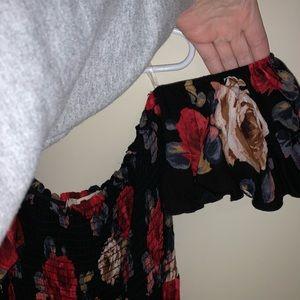 Altar'd State Dresses - 🌺 NWOT Strapless Floral Maxi Dress 🌺